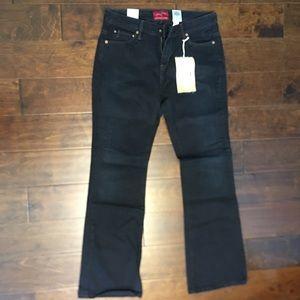 Levi's Vintage Bootcut 565 Black NWT Size 8 29
